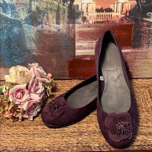 Merona purple 🥿 flat shoes